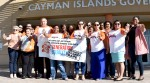 Public Campaigners Make A Colourful Stand Against GBV