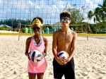 CIVF Crowns Two Youth Athletes the Prince and Princess of the Beach