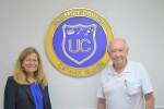 Island philanthropist donates $5,000 to UCCI TVET