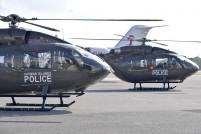 New RCIPS Helicopter arrives on Island