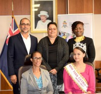 Ministry of Education, Youth, Agriculture and Lands Gives Scholarship to Miss Teen Cayman Islands