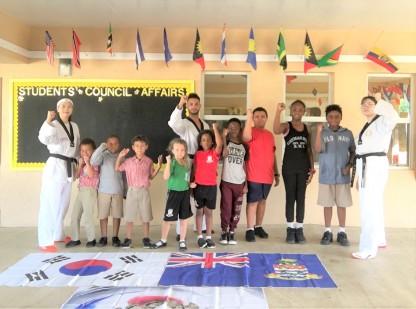 Master Instructors from Korea teach Taekwondo