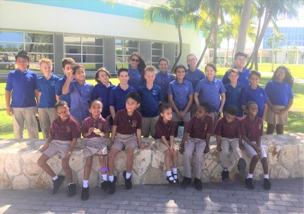 Lighthouse School and Cayman International School Partner in Civic Projects