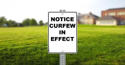 RCIPS Curfew Advisory