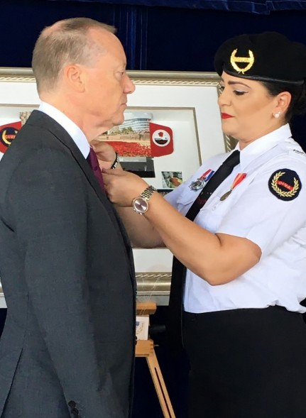 Governor gets pinned with first poppy of 2020